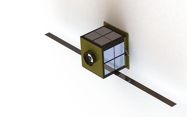 спутник PocketQube Источник https://commons.wikimedia.org/w/index.php?curid=32717744