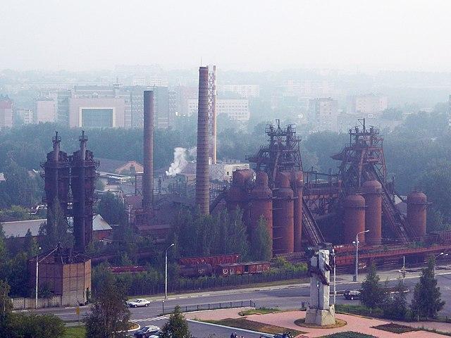 Завод-музей истории горнозаводской техники. Вид с Лисьей горы https://ru.wikipedia.org/w/index.php?curid=5307325