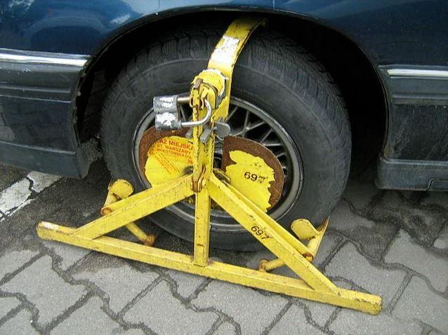Варшавский блокиратор колёс